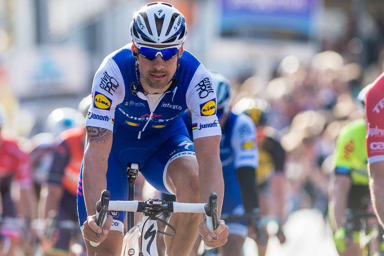 Tom Boonen wordt in zijn laatste jaar als wielrenner door tal van camera's gevolgd. Beeld Photo News