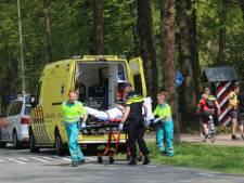Wielrenner gewond na valpartij in Arnhem