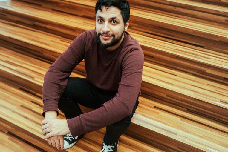 Mohamed Ouaamari. Beeld Illias Teirlinck