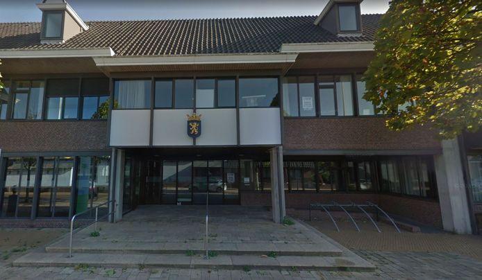 Het voormalige gemeentehuis in 's-Gravenzande.