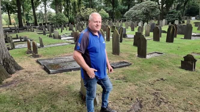 Beheerder begraafplaats Hellendoorn: 'Ik ga met elk stoffelijk overschot om alsof het een familielid is'