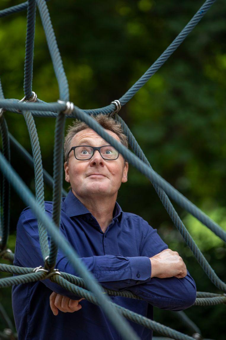 Roland Pierik: 'Mensen sturen de meest gore rommel'. Beeld Werry Crone