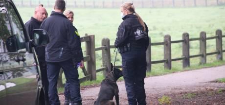 Forensisch onderzoek in Park Sonsbeek in Arnhem