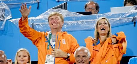 Willem-Alexander en Máxima trots op olympisch goud