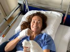 Bibian Mentel werd na operatie wakker met gevoelloze benen
