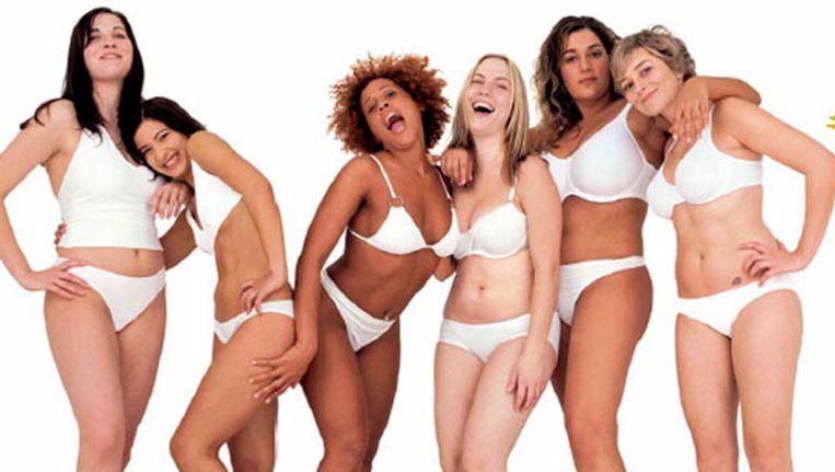 De Dove-campagne voor 'echte vrouwen'. Beeld kos