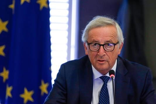 Voorzitter Jean-Claude Juncker van de Europese Commissie.