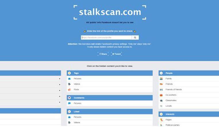 null Beeld Stalkscan