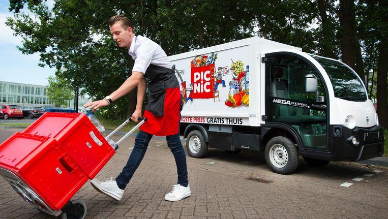 Picnic start in samenwerking met Sandd een uitgebreidere service in Utrecht Beeld ANP