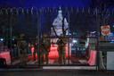Dag en nacht wordt het Capitool bewaakt.