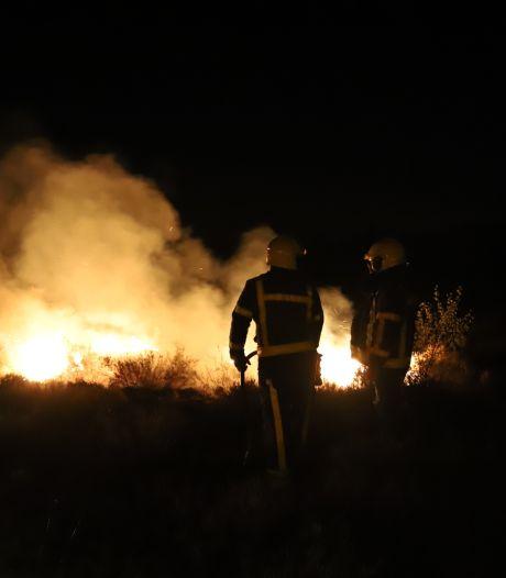 Twee heidebranden bij Elspeet en Vierhouten