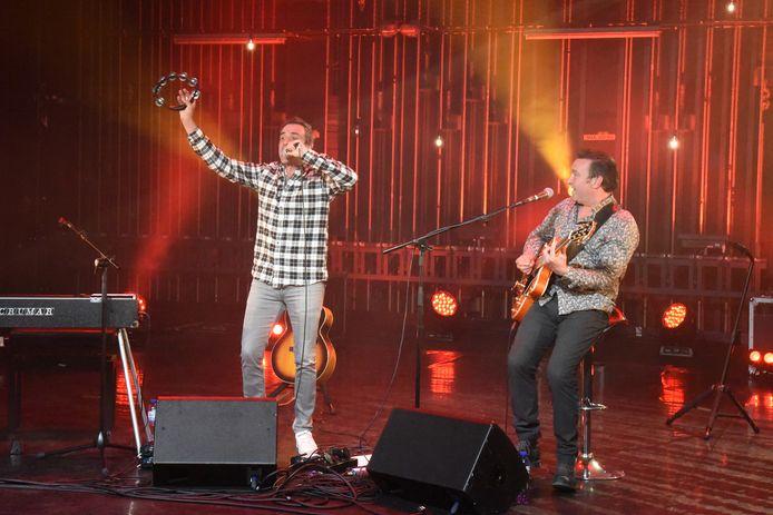 Zanger Wim Soutaer speelde een thuiswedstrijd tijdens de laatste Meen-sessie in Beersel.