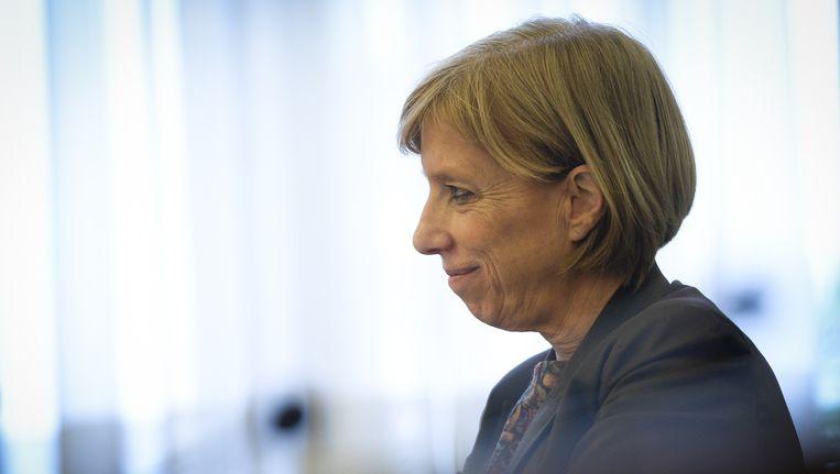 Sp.a-Kamerfractieleider Karin Temmerman.