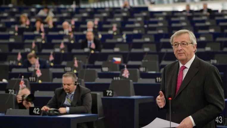 Jean- Claude Juncker, voorzitter van de Europese Commissie. Beeld anp