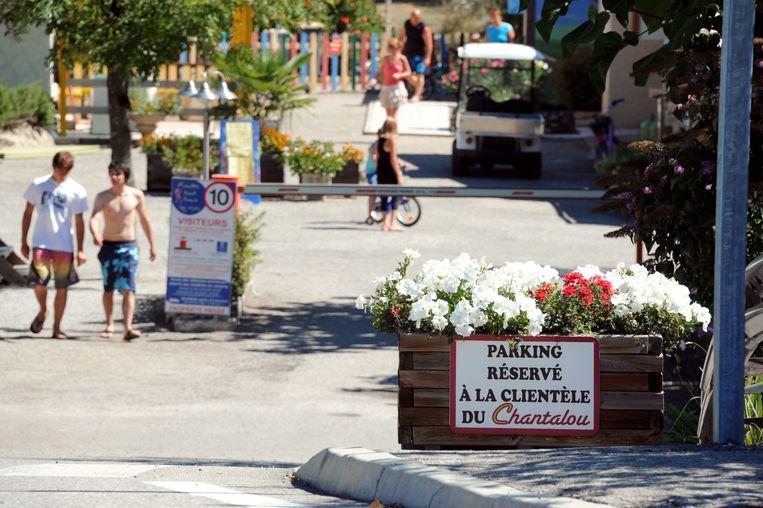Een camping in de Franse Ardèche. Beeld ANP