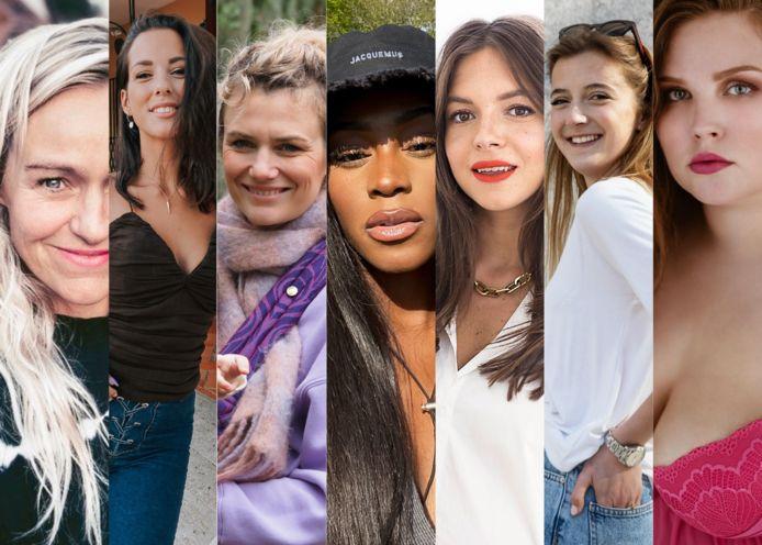 Kirsten Jassies, Cindy Van Dyck, Eva  Tuytelaers, Zoey Hasselbank, Nanja Massy, Jamie-Lee Six, Romy Schlimbach.