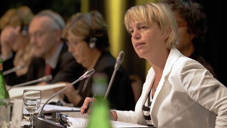 Vlaams minister van Milieu, Joke Schauvliege Beeld UNKNOWN