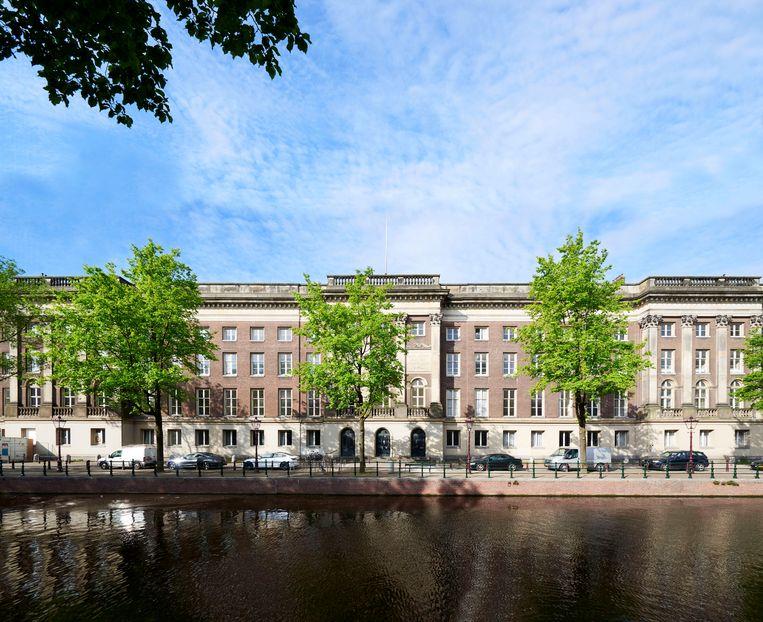 Rosewood Hotel in het voormalige Paleis van Justitie aan de Prinsengracht Beeld Studio Piet Boon