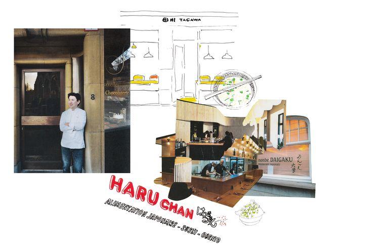 Hier gaat Yasushi Sasaki graag eten. Beeld Gus & Stella