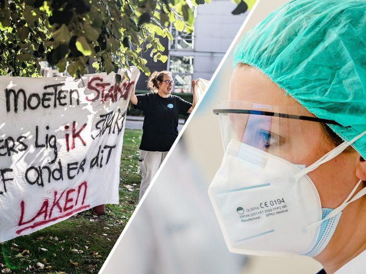 'Bijna 12% zorgmedewerkers ziek thuis door te hoge werkdruk'