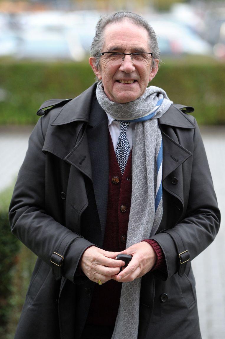 Willy Claes over Hugo Camps: 'Hugo is soms te hard voor mensen. Ik ga geen namen noemen, maar ik ken politici die nog altijd met wraakgevoelens rondlopen omwille van wat hij ooit over hen geschreven heeft.' Beeld BELGA