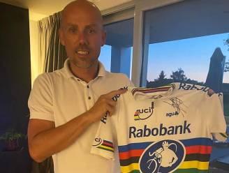 Wereldkampioenenshirt van Sven Nys te koop voor goed doel
