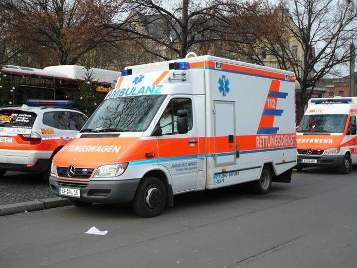 Ter illustratie: een Duitse ambulance.
