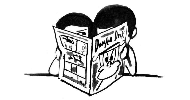 'Of ze nou een tekening showen of iets voorlezen, ze willen gewoon gezien worden.' Beeld Claudie de Cleen