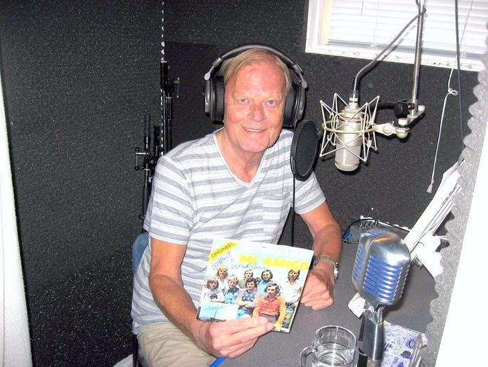 Bert Bennett presenteert nog 1 keer radio Mi Amigo