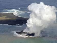 Naissance d'une nouvelle île au large du Japon