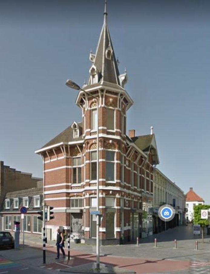 Stationsstraat 12 a Bergen op Zoom. Hier komt een sushipoint.