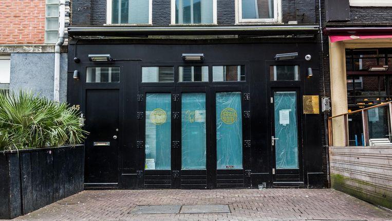 Het gesloten Suzy Wong staat inmiddels een paar weken te koop Beeld Tammy van Nerum