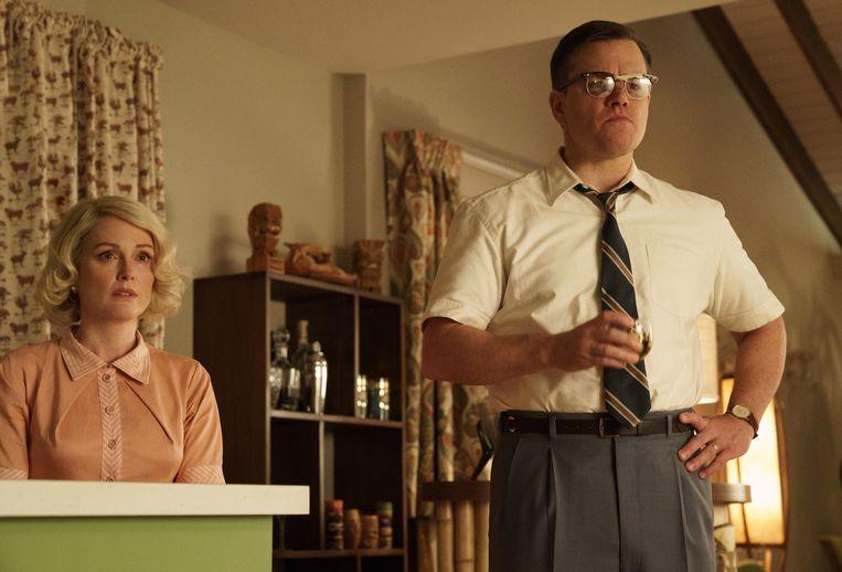 Julianne Moore en Matt Damon. Beeld Hilary Bronwyn Gay