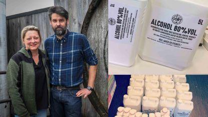 Pepingse ginstokerij schenkt 750 liter ontsmettingsalcohol aan zorgverleners