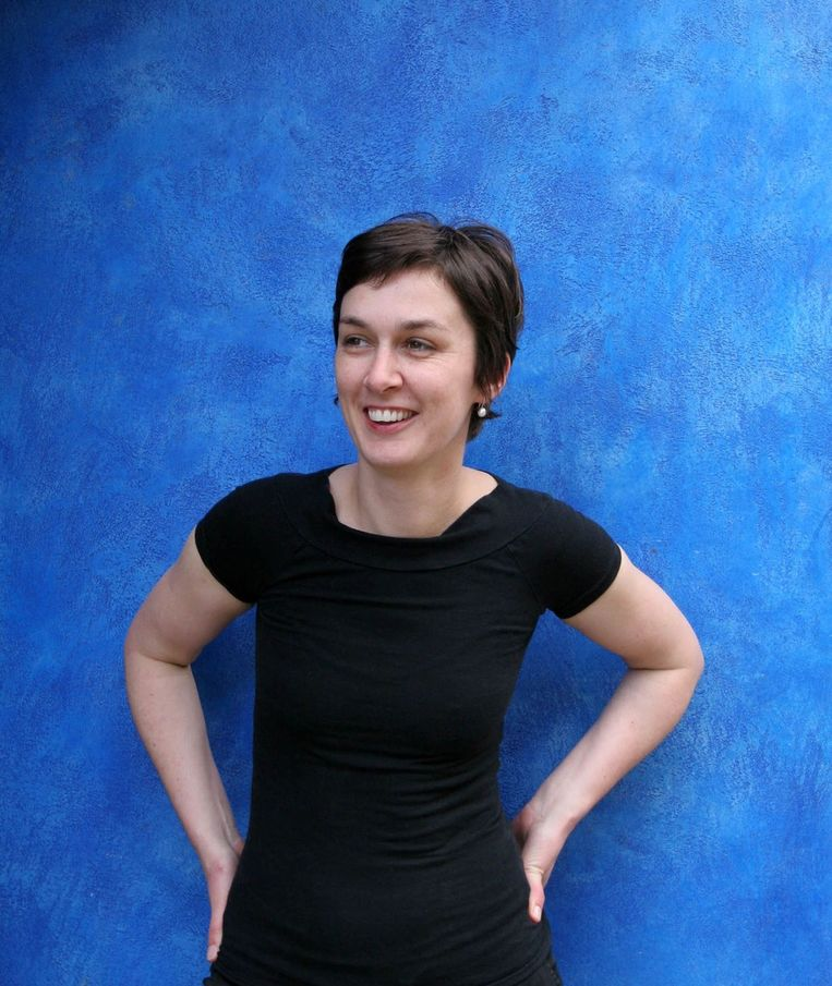Rose George:  'Voor alles wat met menstruatie te maken heeft, wordt verhullende taal gebruikt, we moeten ons kennelijk ergens voor schamen.' Beeld Karen Robinson