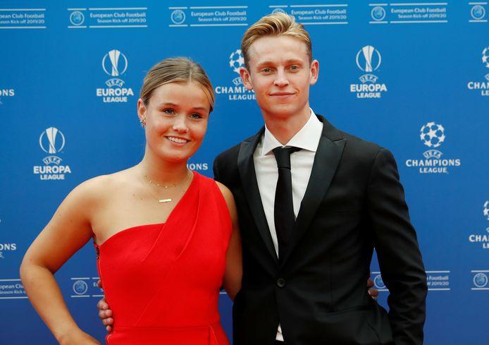 Frenkie de Jong en Mikky Kiemeney.