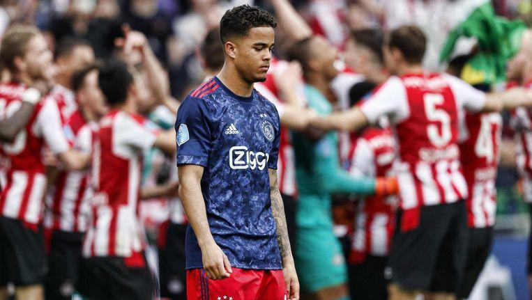 Het is vier jaar geleden dat Ajax voor het laatst kampioen van Nederland werd Beeld ANP Pro Shots