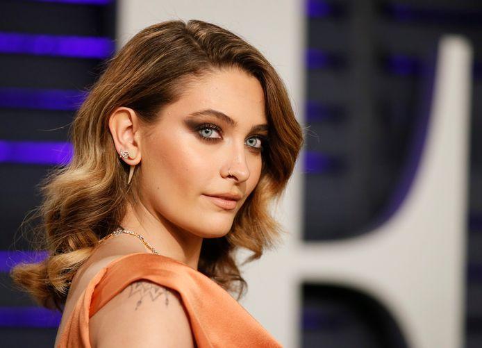 Paris op de Vanity Fair-afterparty na de Oscars in februari.