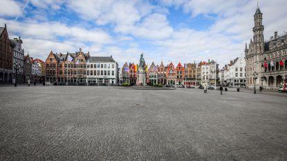 Nooit was Brugge zo leeg, zo stil