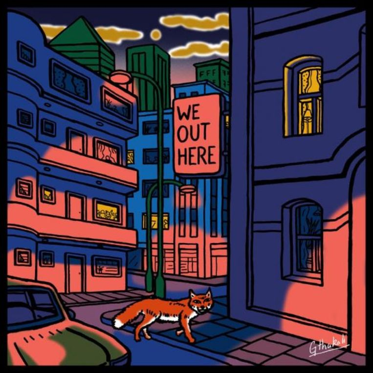 Cover van 'We Out Here' Beeld rv