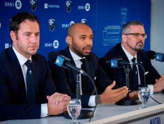 """Thierry Henry neemt ontslag bij Montréal Impact: """"Het missen van mijn kinderen werd te zwaar"""""""