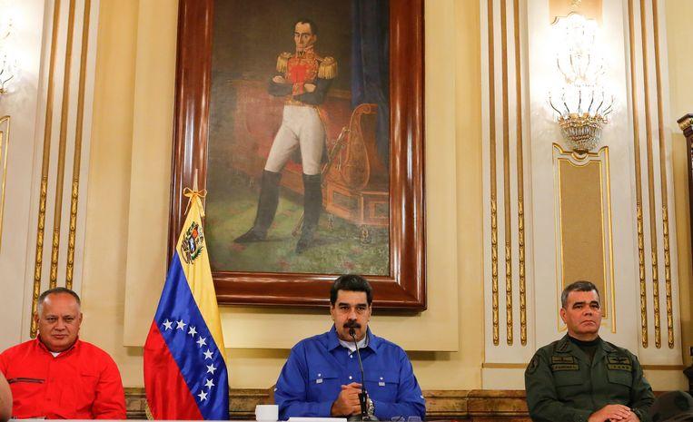 President Nicolas Maduro. Beeld AP