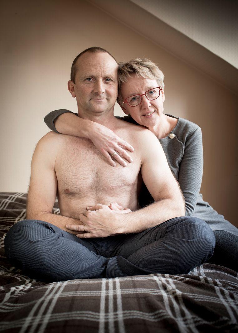 Geert en zijn vrouw. Beeld lieve Blancquaert