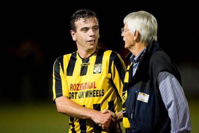Bedenker van het verenigingscontract voor spelers van het O23 jaar-team, Edmund Mijnheer - hier in 2017 nog als eerste elftalspeler van DVS'33.