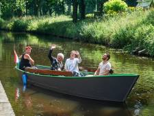 Weer een stapje verder met het watertoerisme: fluisterboot tussen Veghel en Zwanenburg in de vaart