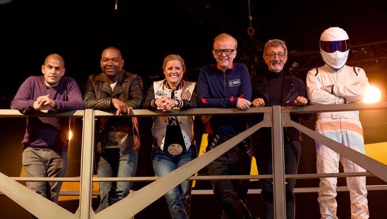 Het nieuwe team van Top Gear. Beeld photo_news