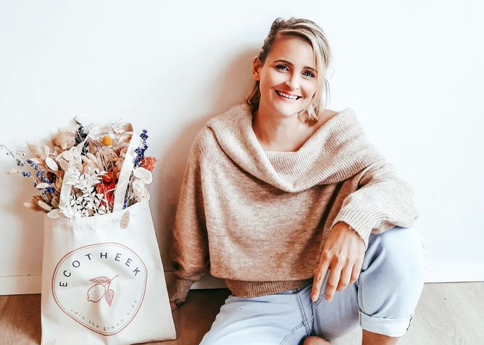 Stefanie Goossens wil met Ecotheek mensen aansporen om bewuster te consumeren.