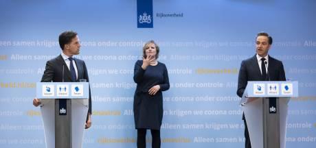 Waarom ging plots 'de witte jas' uit bij Rutte en De Jonge? Door Bruls?