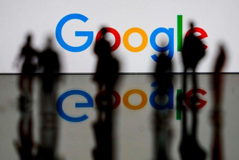 Google in Brussel Beeld AFP