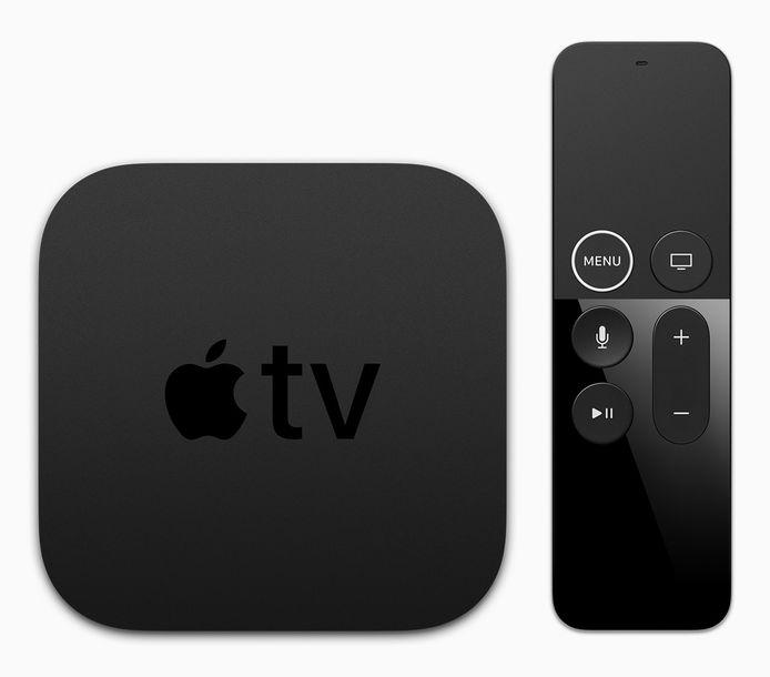 De Apple TV 4K dateert alweer van 2017. Kondigt Apple dinsdag een nieuwe versie aan?